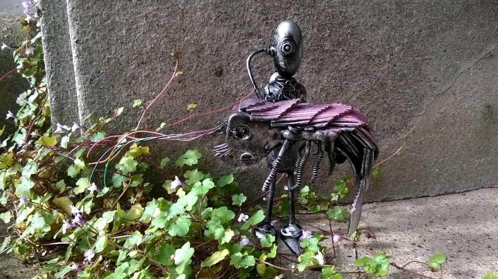 screwed sculpts giant prawn