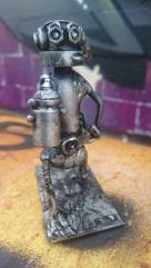 screwed sculpts graffiti bot