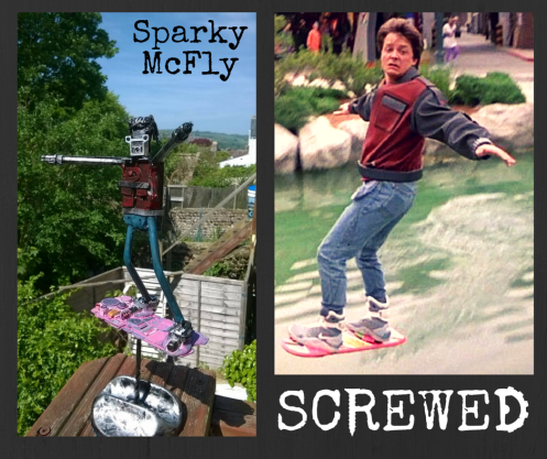 marty mc fly sparky mcfly by screwed