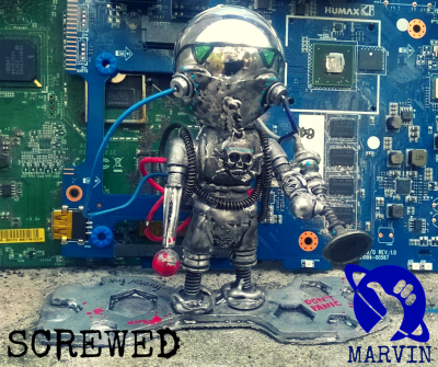 marvin the martian made by screwed
