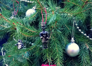 custom christmas tree decoration robots