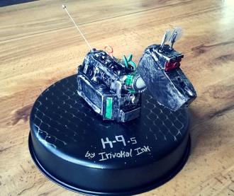 K9 bot by Screwed Sculpts