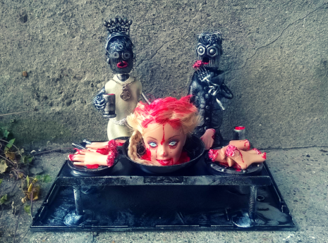 Zombie Wedding Bots by Screwed Sculpts
