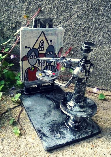 Artist Bot by Screwed Sculpts