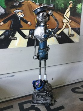 Customer photo of the WREN bot