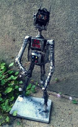 Ky-Rek of Kyandr Bot by Screwed Sculpts
