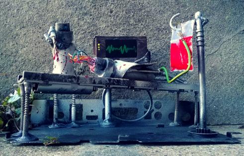 Medical Robots by Screwed Sculpts