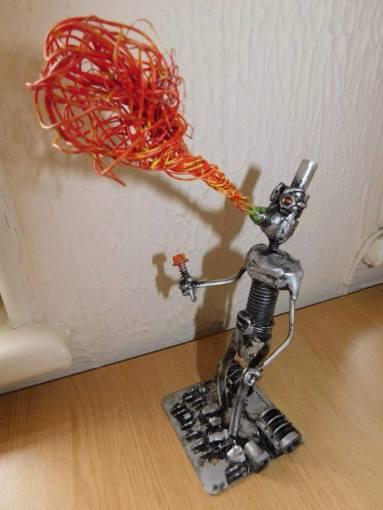Screwed Sculpts Firebreather Bot