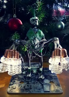 Christmas Light Elf Bot