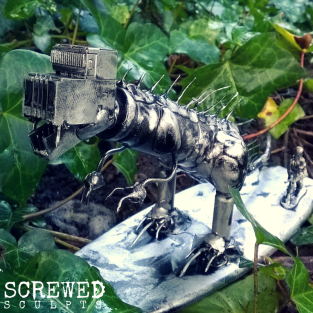 Dinosaur bot by Screwed Sculpts