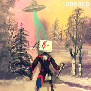 Bespoke upcycled david bowie robot