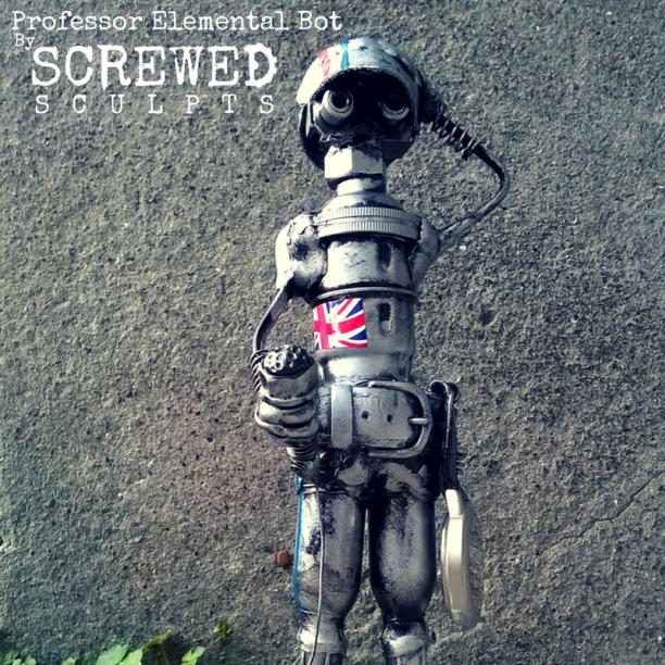 Professor Elementla Bot by Screwed Sculpts