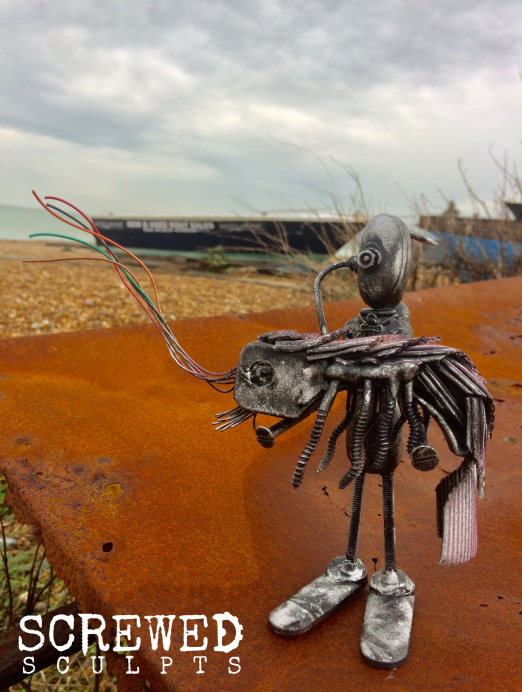 Shrimp Catcher Bot by Screwed Sculpts