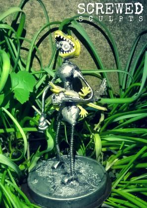 Lizard Bot by Screwed Sculpts
