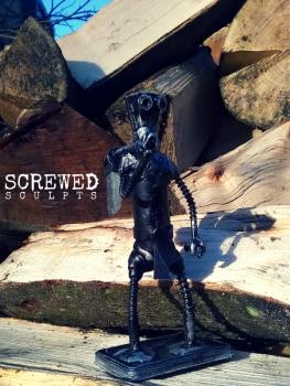 Lumberjack Bot by Screwed Sculpts