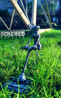 Lawn Bot by Screwed Sculpts