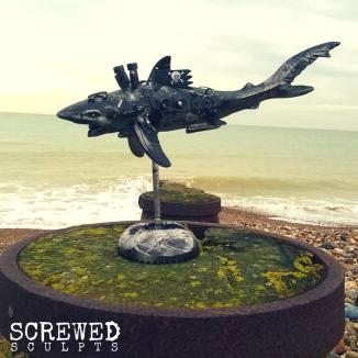 Shark Bot by Screwed Sculpts