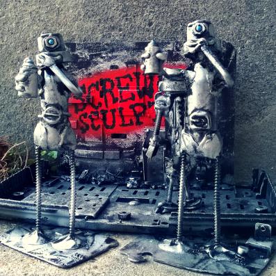 Graffiti Bots by Screwed Sculpts