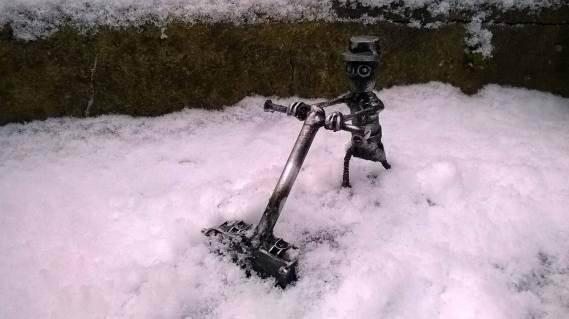 Snow robots!