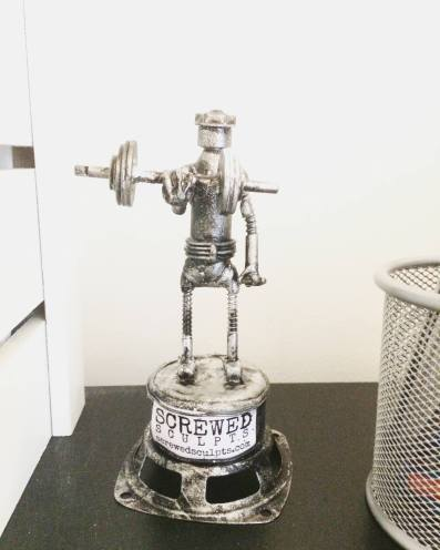 Screwed Bot at Gaches Health Club Horsham