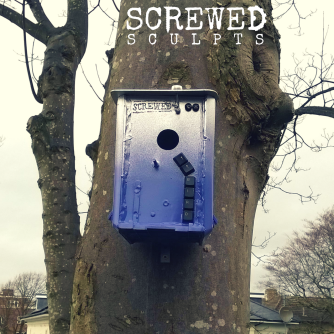 Screwed also sculpts bird boxes!