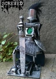 Custom Made Warrior Robot Sculpt