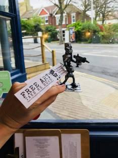 Free Art found in Brighton