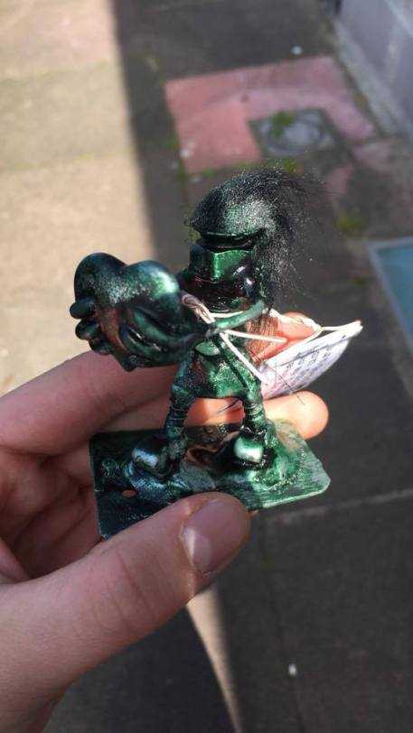 Special edition gree fringe festival free art bot