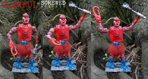 Screwed Sculpts MOTU Clawful