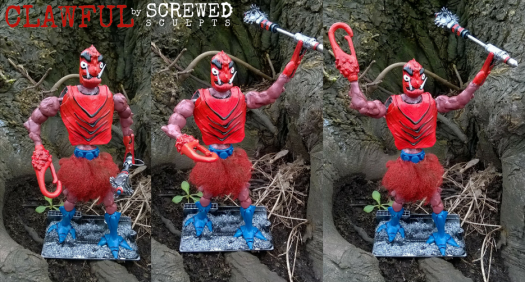 Screwed Sculpts MOTU Clawful