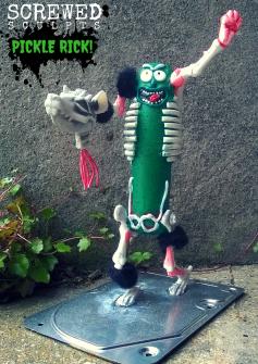 Screwed Sculpts Pickle Rick!