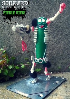Screwed Sculpts Pickle Rick!