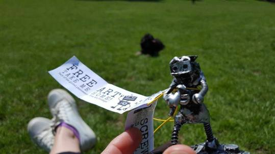 Free Art Friday Brighton Fringe Bot