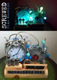 Screwed Sculpts Time Machine