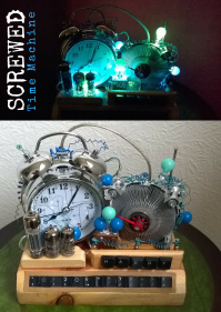 Screwed Sculpts Time Machine