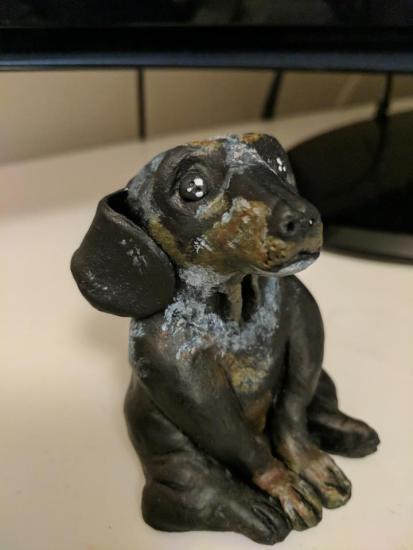 Clay Dog Sculpt