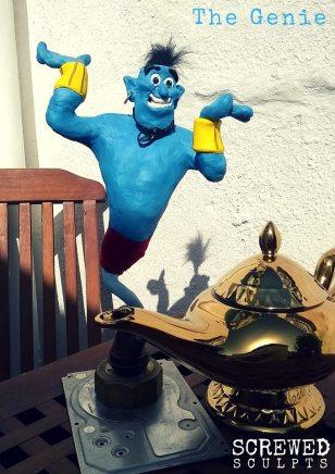 Clay genie sculpt