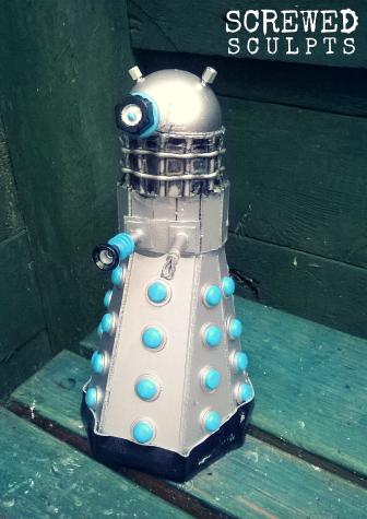 Dalek sculpt