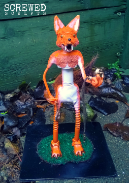Custom Fox Sculpt
