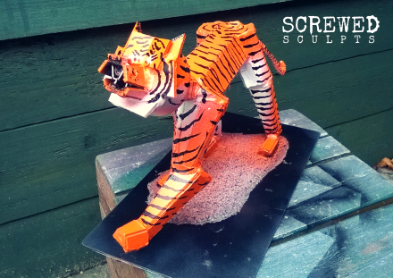 Upcycled Tiger