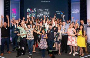 Tech4Good 2019 Award sculpt winners