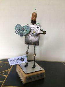 Tech4Good 2019 Award Sculpt
