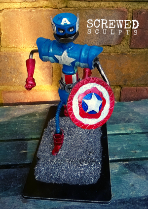Captain Ameribot! A Captain America inspired bot