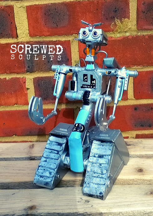 Johnny 5 Screwed Sculpt